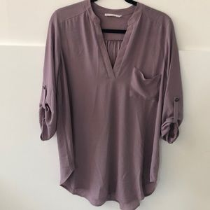Lush longer length shirt size large